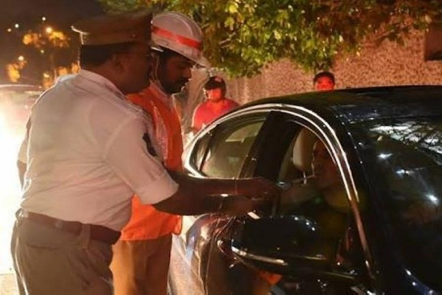 After 9 Only Drunken Drive Tests in Hyderabad
