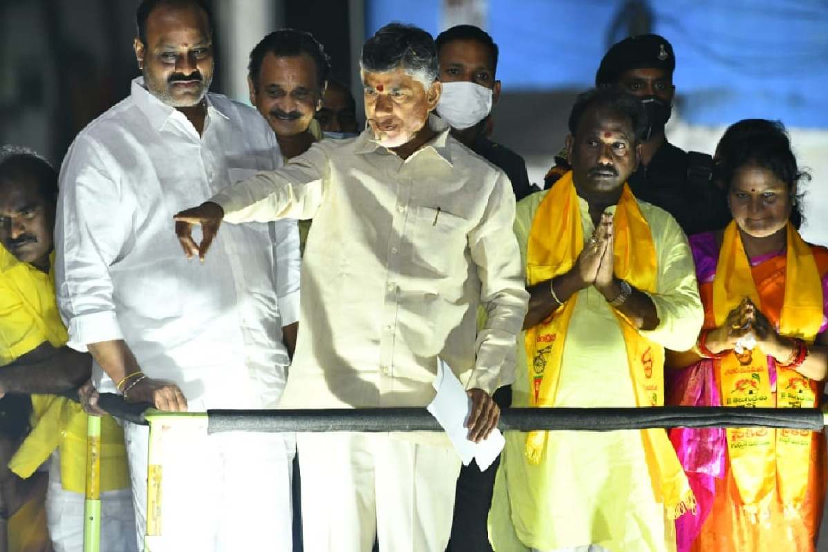 Chandrababu announces Peela Srinivasa Rao as Visakhapatnam mayor candidate