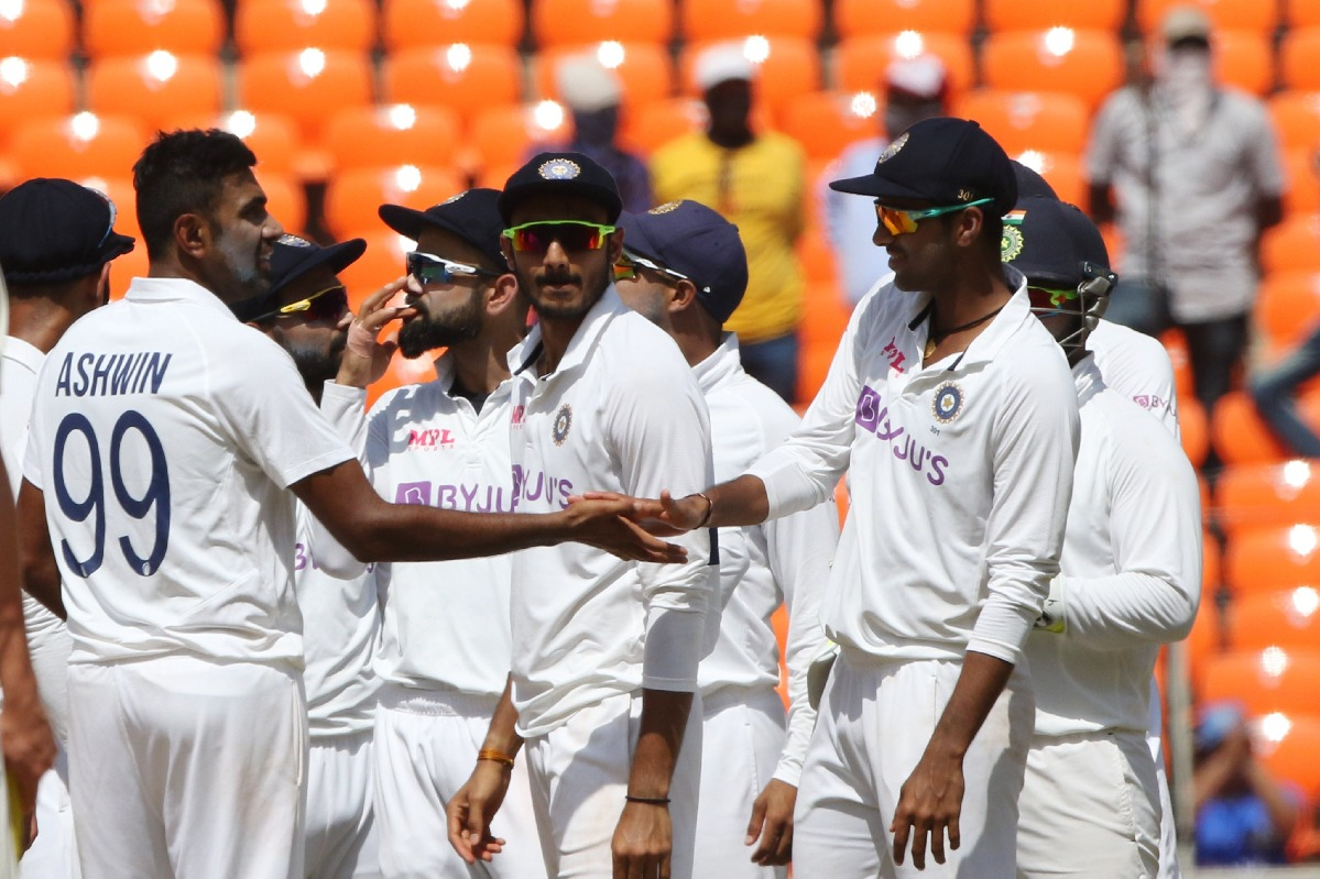 India victorious in Ahmedabad test against England