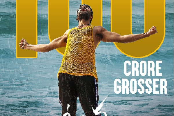 Uppena joins Hundred crore club