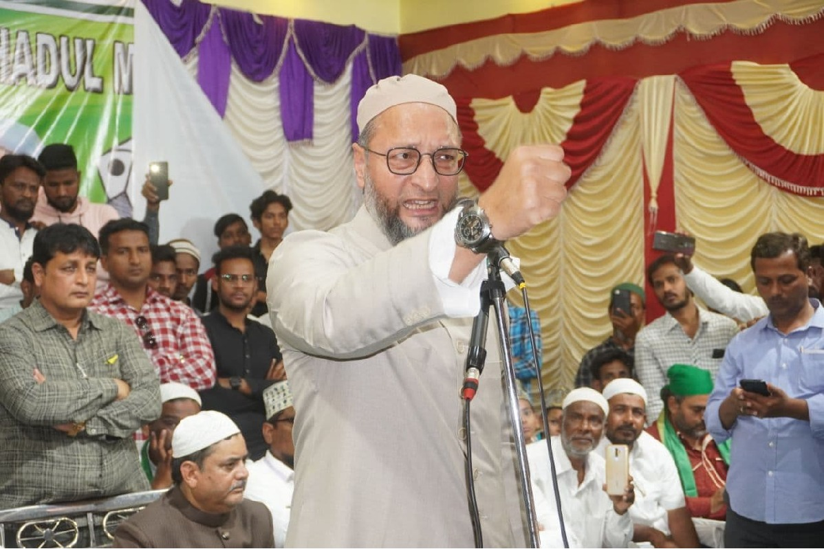 Asaduddin Owaisi comments on BJP