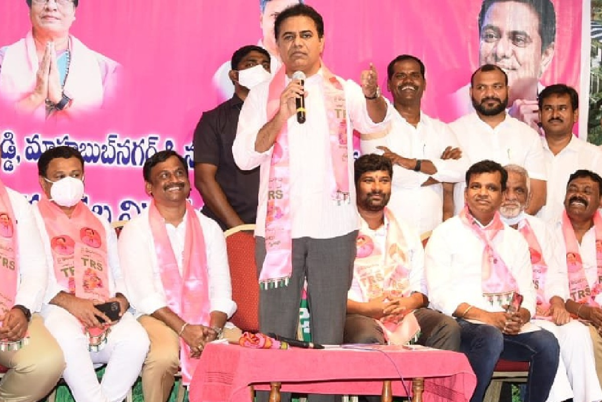 KTR comments on PM Modi and BJP leaders