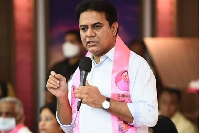 KTR satires on Bandi Sanjay
