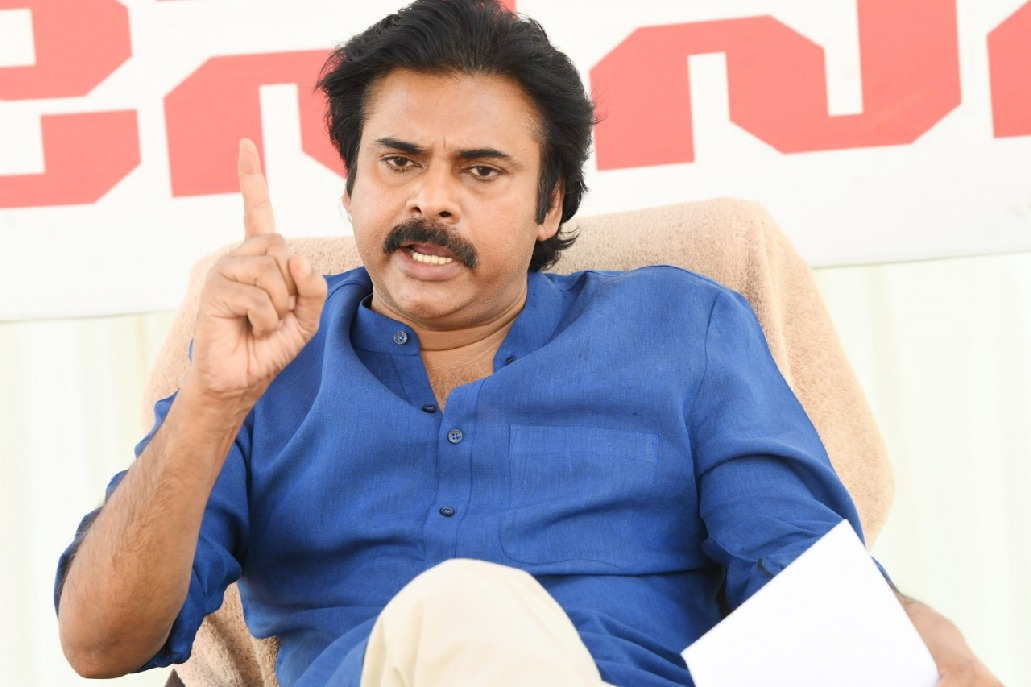 Pawan Kalyan comments on YSRCP MPs over steel plant issue