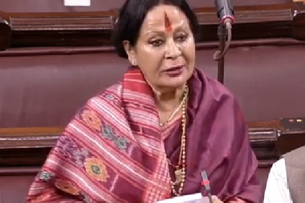 I demand that International Mens Day should also be celebrated BJP MP Sonal Mansingh in Rajya Sabha