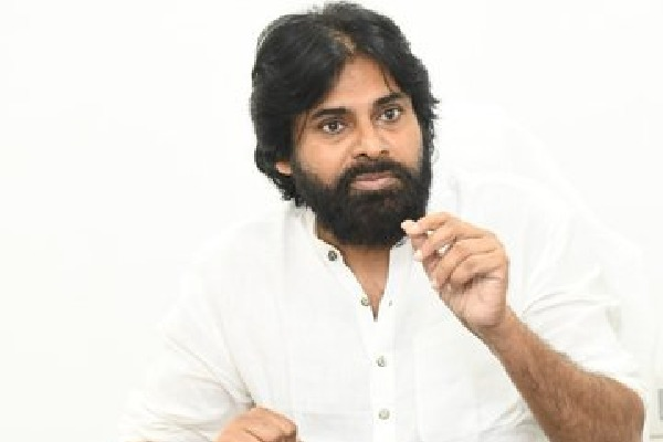 Pawan Kalyan condemns police behavior on Amaravati women