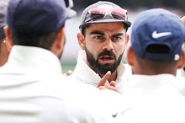 Kohli reacts to racial abuses towards Mohammed Siraj in Sydney test