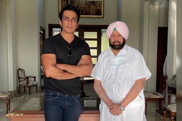 Sonu Sood appointed as Punjab corona vaccination brand ambassador