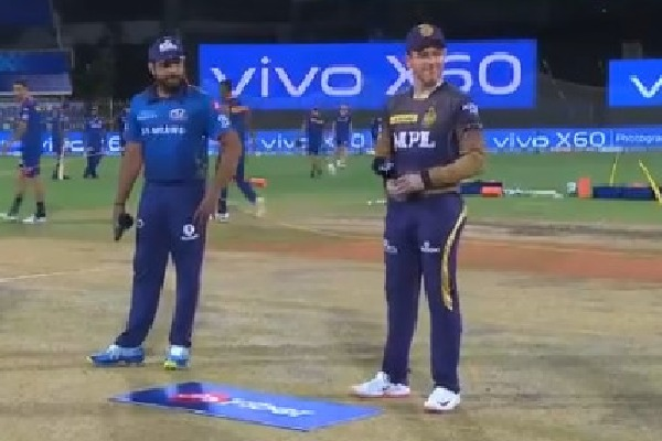 KKR won the toss against Mumbai Indians