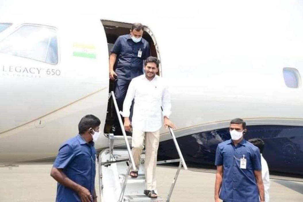 CM Jagan Delhi tour concludes