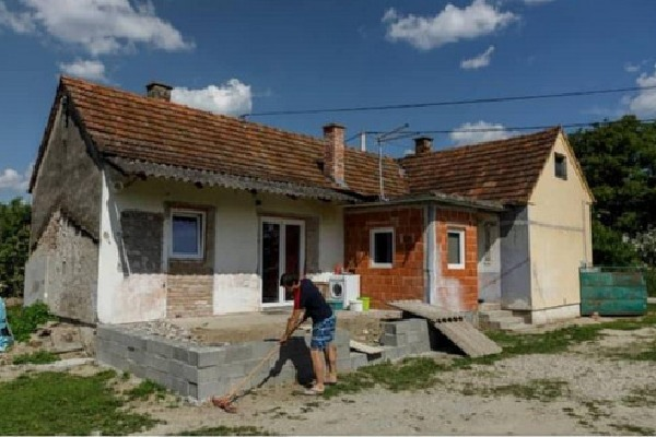 Croatia town Legrad announced very cheap rates for houses to lure people