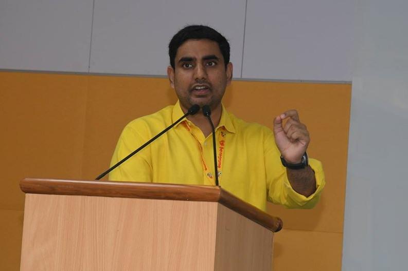 Nara Lokesh wrote governor Biswabhushan