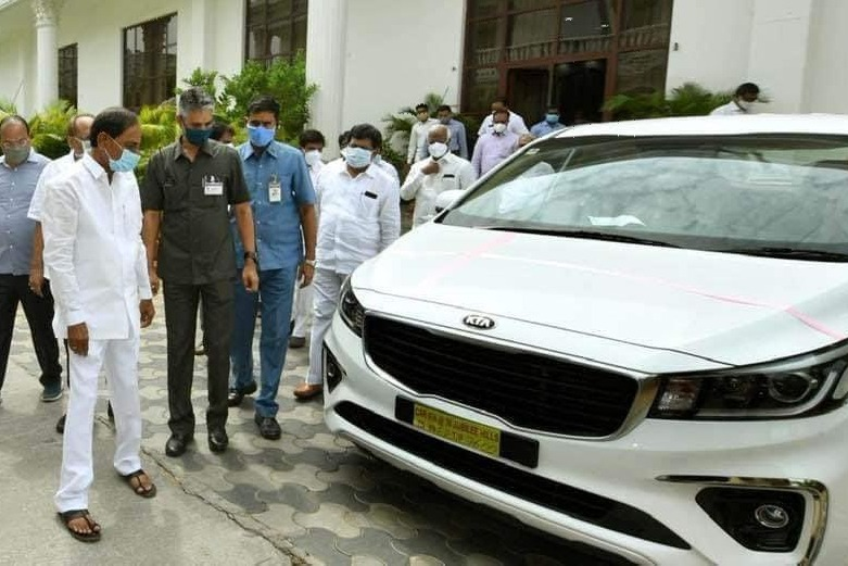 KIA cars for Telangana districts additional collectors