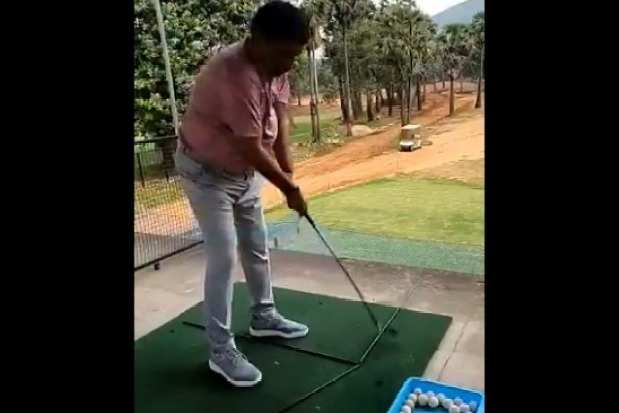 Its been long Playing golf after many days after