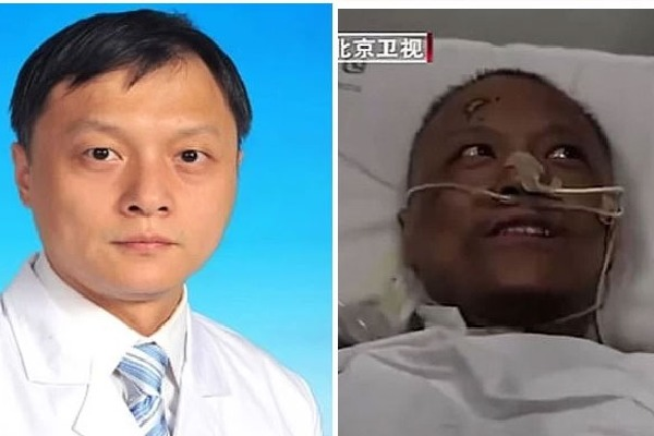 Wuhan doctor whose skin turned dark due to COVID treatment returning to normal