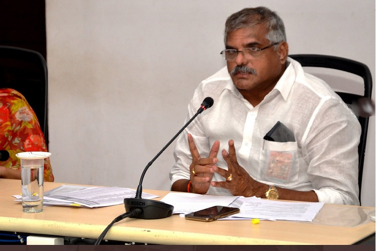 Botsa fires on Chandrababu and asked what he had done to Amaravati