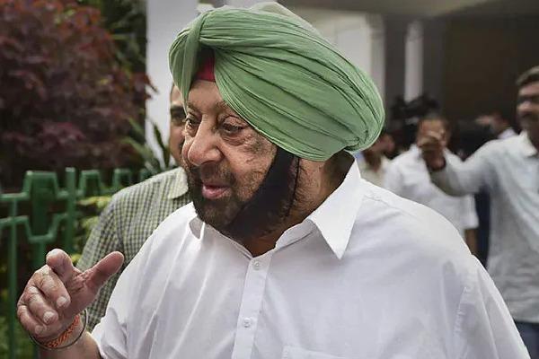 Amarinder Singh Slams BJP