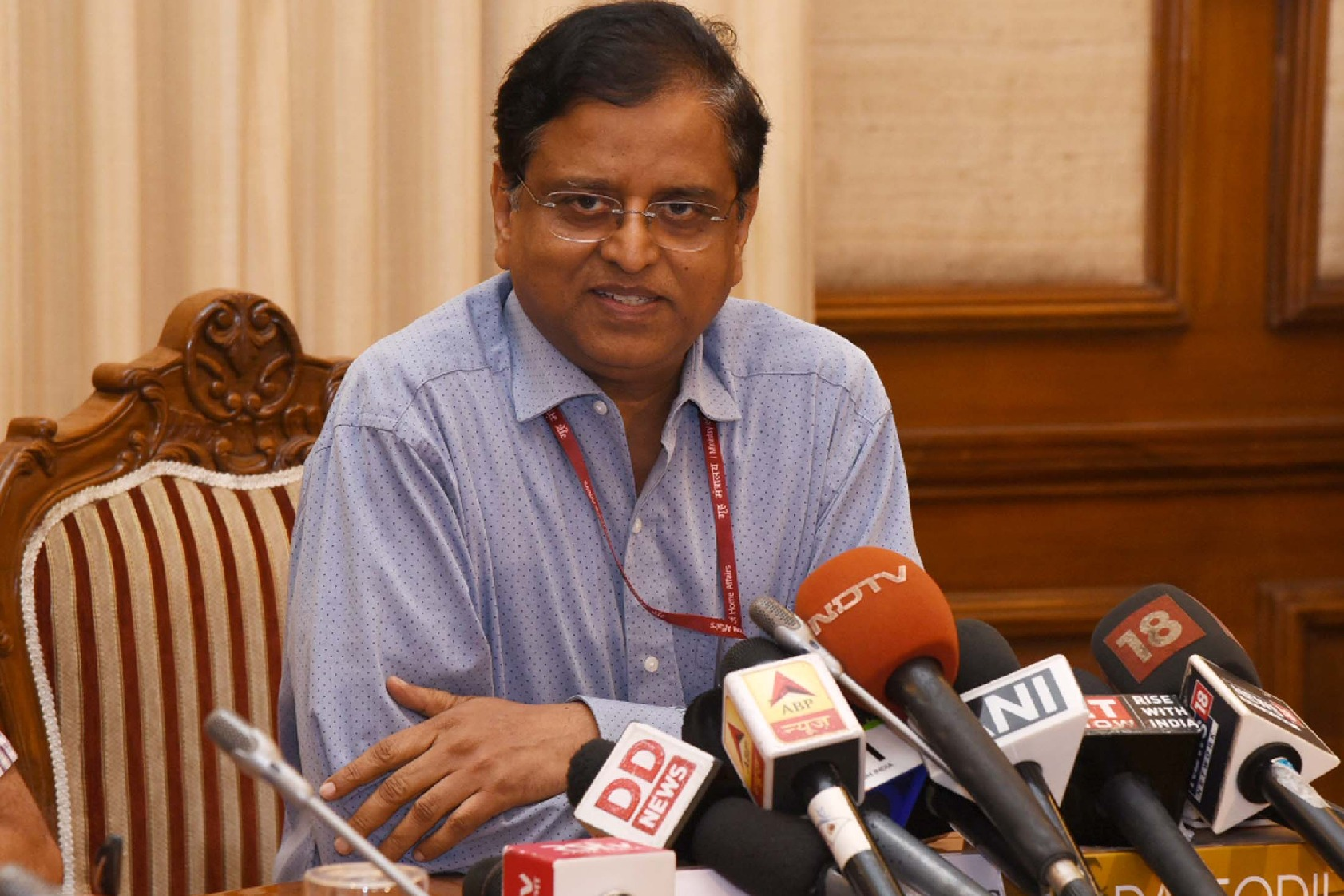 Subhash Chandra Garg alleges Nirmala Sitharaman