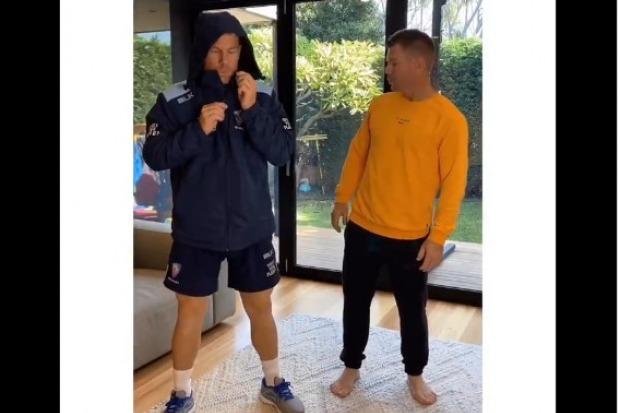 Warner takes on Why this kolaveri in his latest Tik Tok video