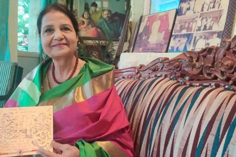 PM Narendra Modis Pakistani sister Qamar Mohsin Shaikh sends him rakhi