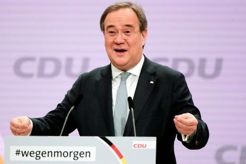 Armin Laschet elected leader of Merkel CDU party