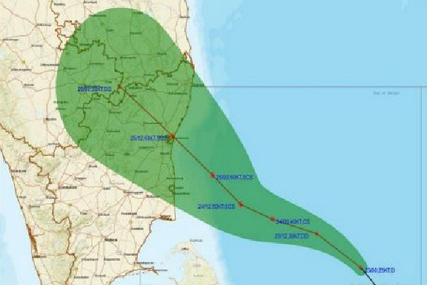 Two more cyclones has to come towards Tamil Nadu and AP