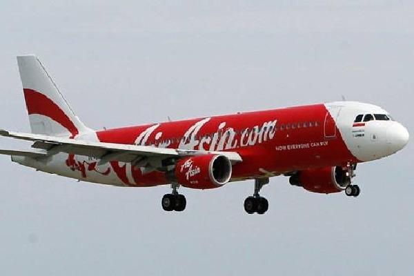 Air Aisa plane landed emergency in Hyderabad