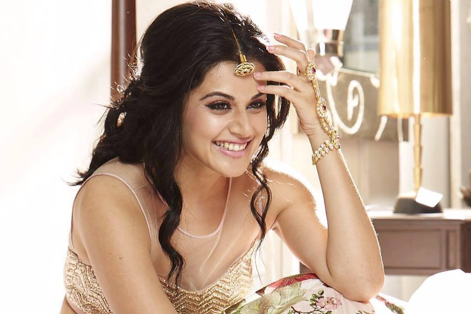 Covid insurance for Tapsee Pannus movie