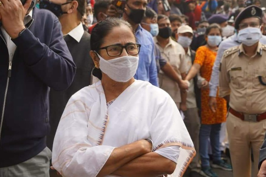 Mamata Banarjee says that she will contest from Nandigram
