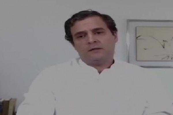Rahul Gandhi responds to Ahmed Patel demise