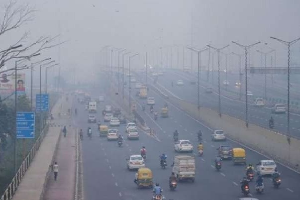 Rain and Winds Reduced Delhi Pollutions