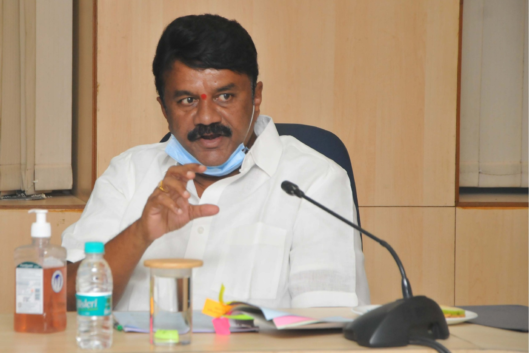 Telangana minister Talasani fires on opposition parties