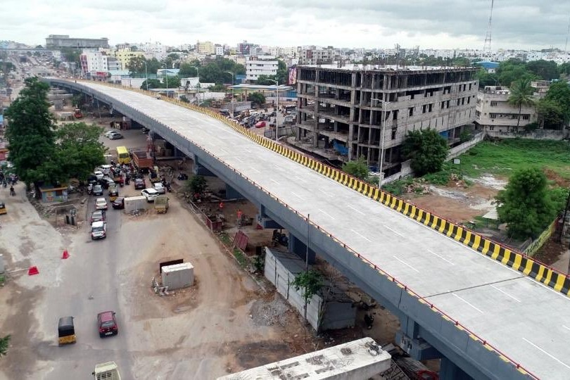 another flyover in Hyderabad