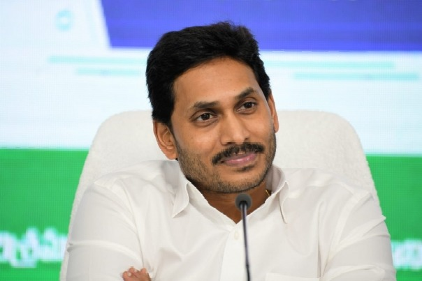 CM Jagan takes oath again in the wake of one year completion