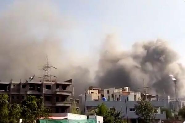 Fire accident at Serum Institute of India in Pune