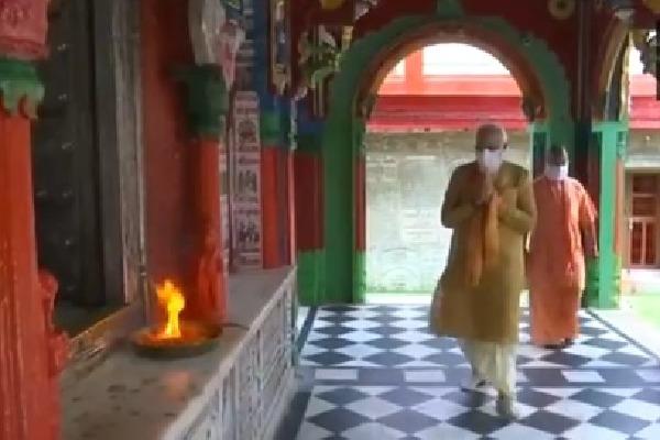 modi arrives ayodhya