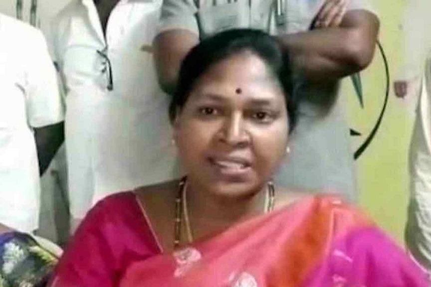 Potula Sunetha Resignation Accepted by Mandali Chairman