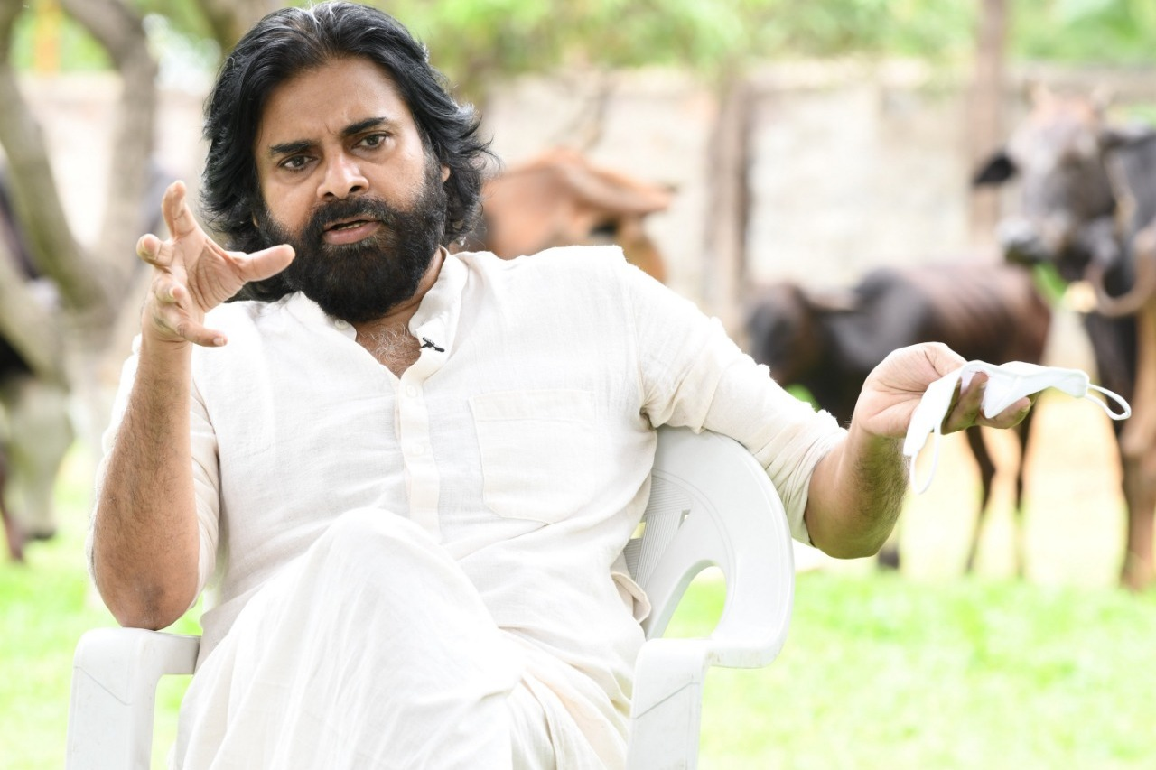 Pawan Kalyan questions government on flood relief