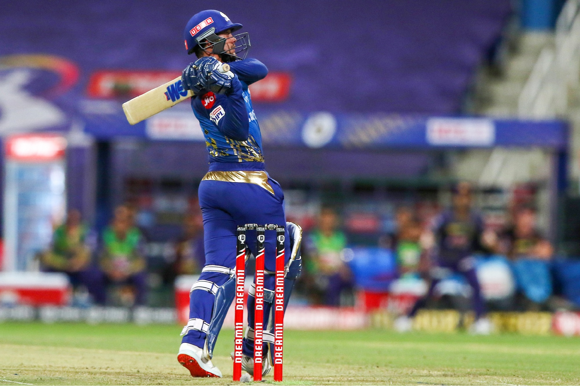 mumbai indians won the match against kolkata knightriders