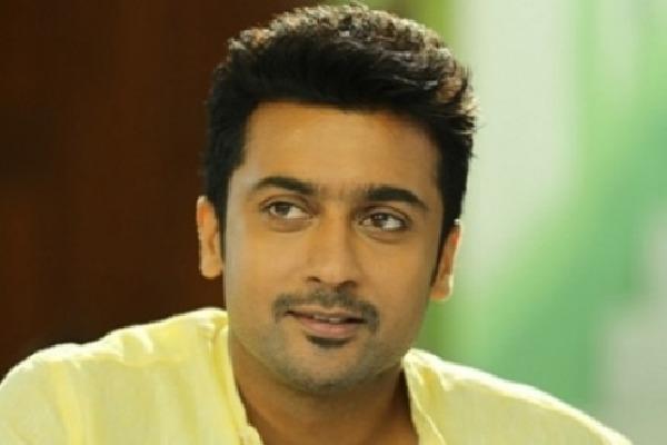 Tamil Star Hero Surya Suffering from Injury