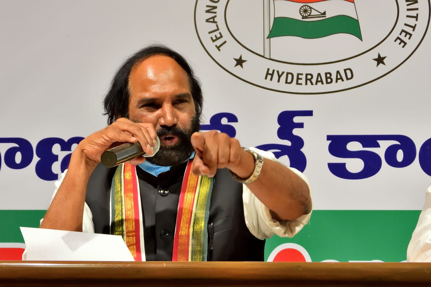 TPCC President Uttam Kumar Reddy take a dig at TRS party