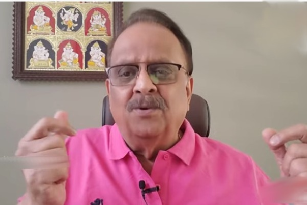 SP Balasubramaniam composed a song on corona before he tested positive