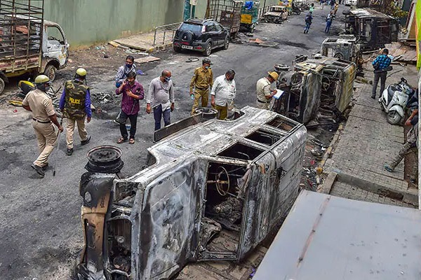 Ex Congress Mayor R Sampath Raj Arrested in Bengaluru violence case