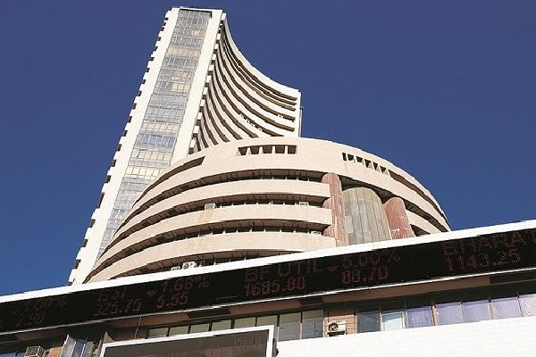 Stock markets ends in flat mode