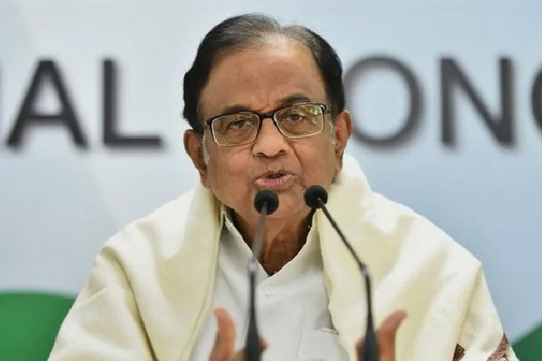 Chidambaram Mocks NDAs 19 Lakh Jobs in Bihar