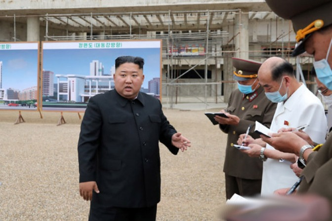 Kim says US is biggest enemy to North Korea