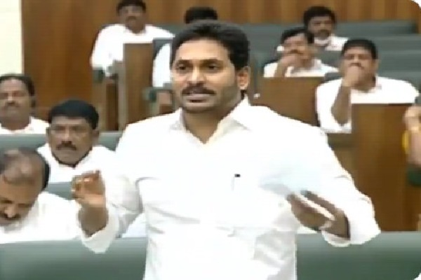 CM Jagan talks about credibility in Assembly sessions