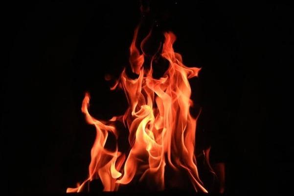 4 dead bodies burnt on single place in Warangal