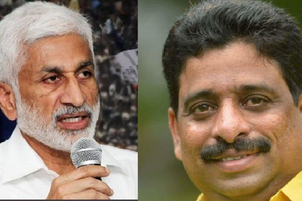 Buddha repiles strongly to Vijayasai Reddy comments