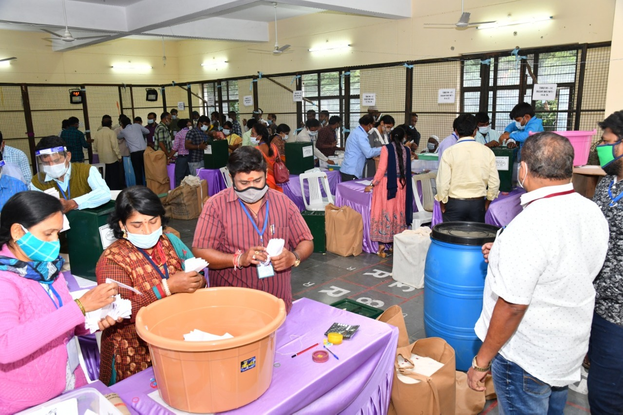 GHMC Counting in Hyderabad